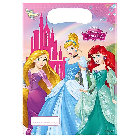 Lot de 6 sachets cadeaux Princesses Disney