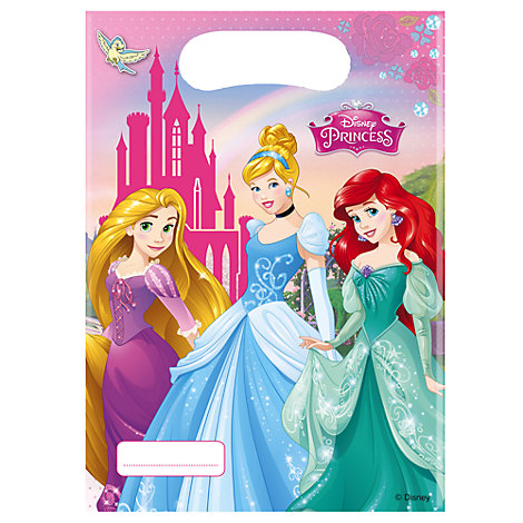 Disney Prinsessor 6x partypåsar
