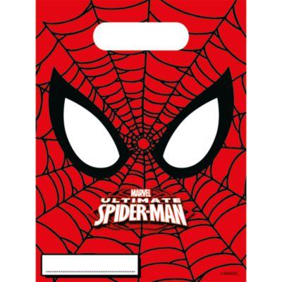 6 sachets cadeaux Spider-Man