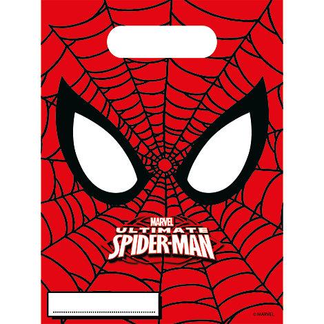 Spiderman 6x partypåsar