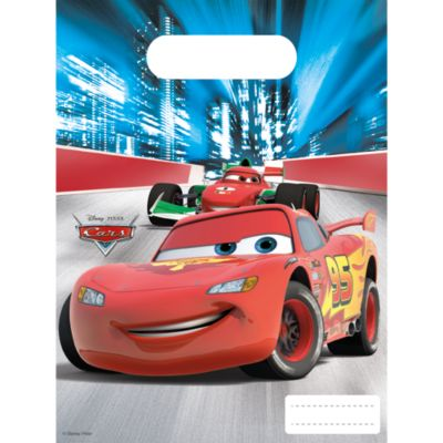 Disney Pixar Cars 6x Party Bags