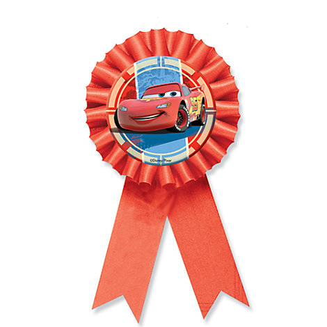 Disney Pixar Cars Award Ribbon