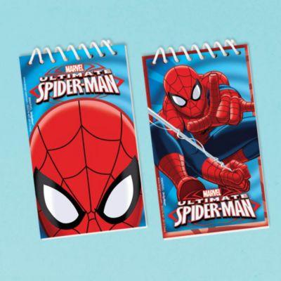 Spider-Man 12x anteckningsblock