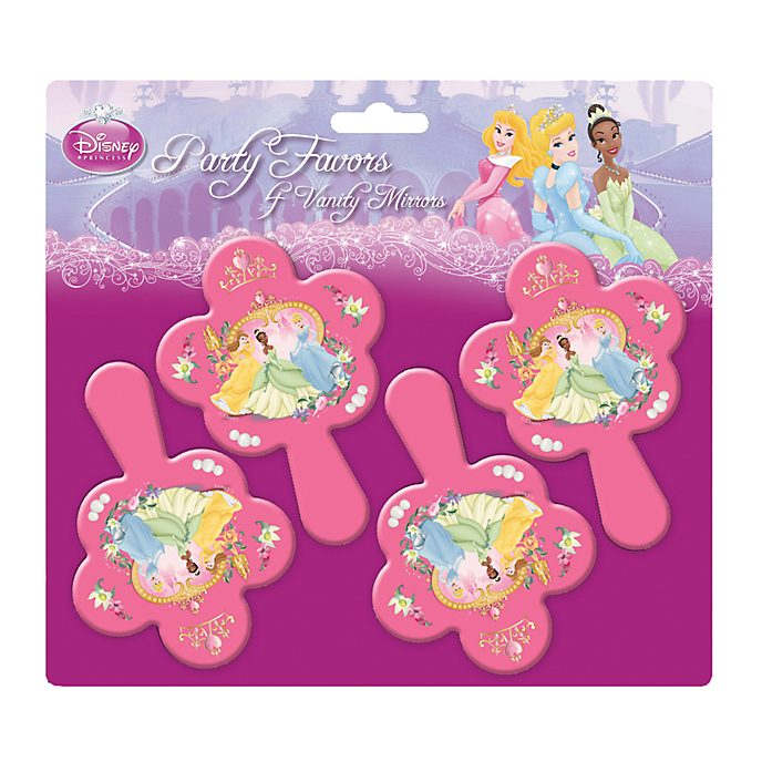 Disney Store Lot de 4 miroirs Princesses Disney