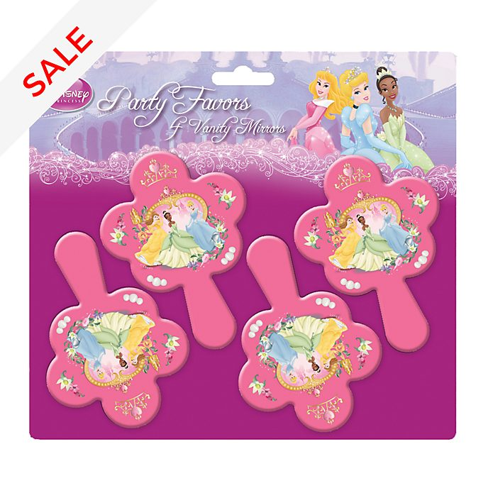 Disney Store Disney Princess Set of 4 Mirrors