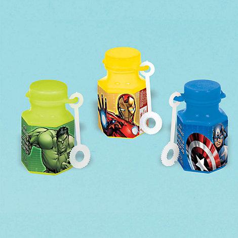 12 mini tubes à bulles Avengers