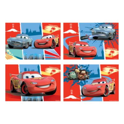Disney Pixar Bilar 4x pussel