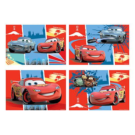 Disney Pixar Cars - 4 x Puzzle