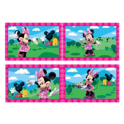 Minnie Mouse 4x Jigsaw Puzzles