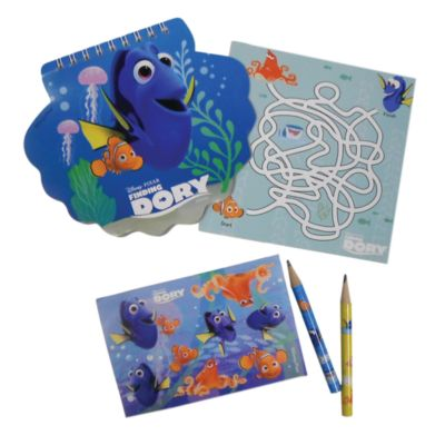 Lot de 24 articles de papeterie Le Monde de Dory