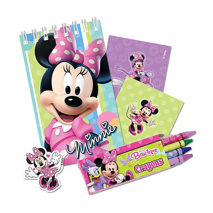 Disney Store Lot de 20 articles de papeterie Minnie Mouse