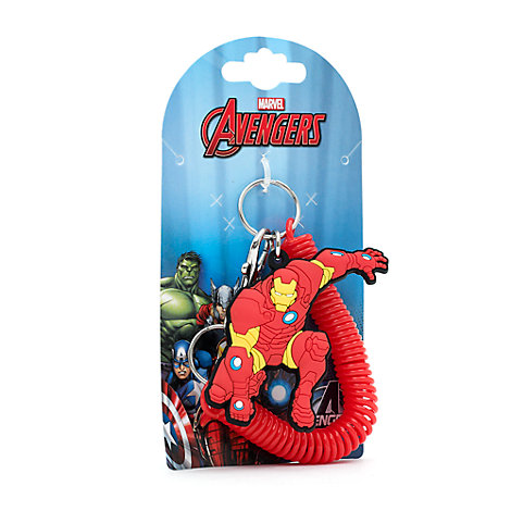 Iron Man Spiral Key Ring