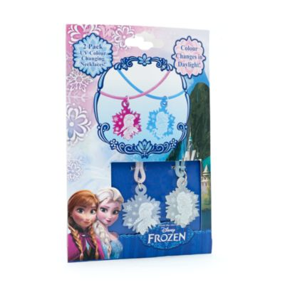 Frozen 2x Colour-Changing Necklaces