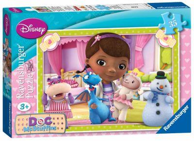 Doc McStuffins Spielzeugärztin - Puzzle (35 Teile)