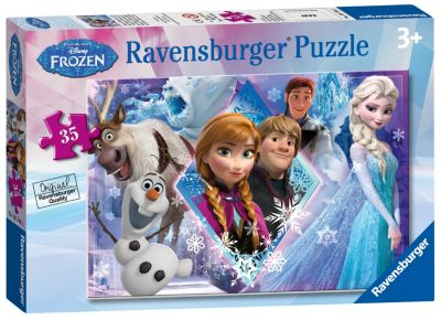 Frozen 35 Piece Puzzle
