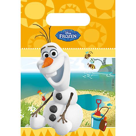 6 sachets cadeaux Olaf