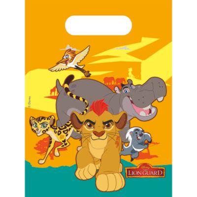 Bolsas fiesta La guardia del león (6 u.)