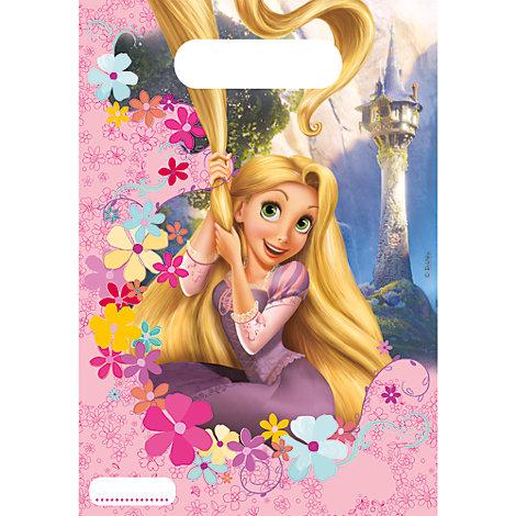 Bolsas fiesta Rapunzel (6 u.)