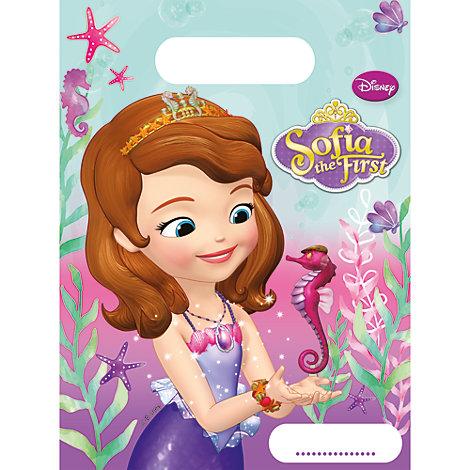 Bolsas fiesta Princesa Sofía (6 u.)