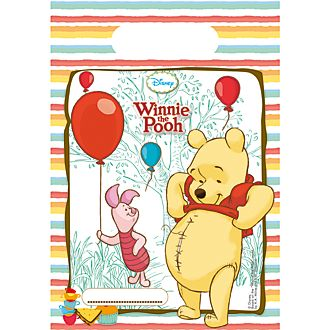 Winnie The Pooh 6x Party Bags Set