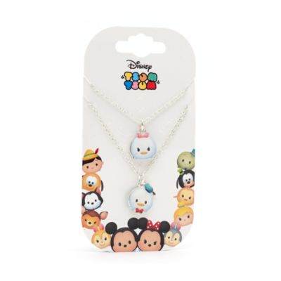 Donald & Daisy Duck Tsum Tsum Necklace