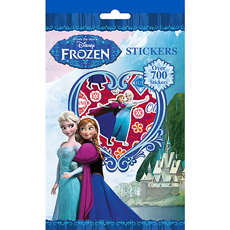 Frozen 700+ Sticker Set