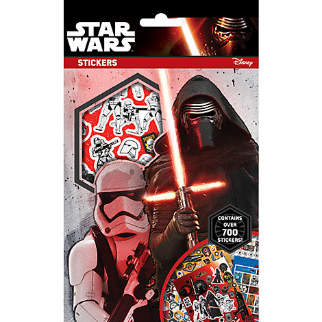 Star Wars: The Force Awakens 700+ Sticker Set