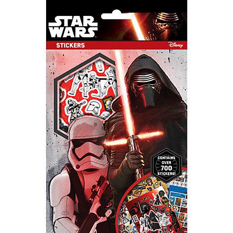 Pack +700 pegatinas Star Wars VII: El despertar de la Fuerza