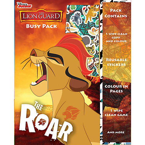 The Lion Guard Busy Activity Pack