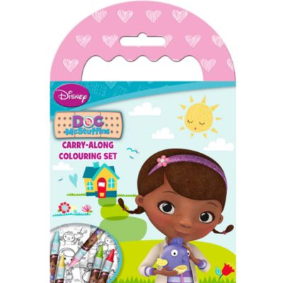 Doc McStuffins Carry Along Colouring Set