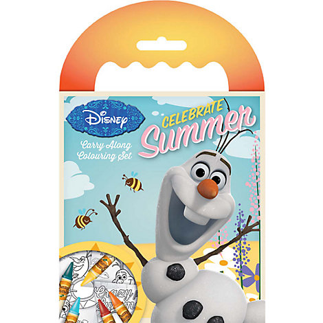 Olaf Carry Along Colouring Set, Frozen