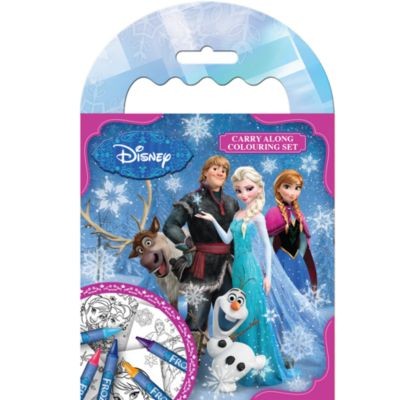 Frozen Carry Along Colouring Set