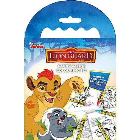 Set da viaggio per colorare The Lion Guard