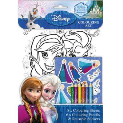 Frozen Colouring Set