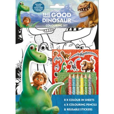 The Good Dinosaur Colouring Set