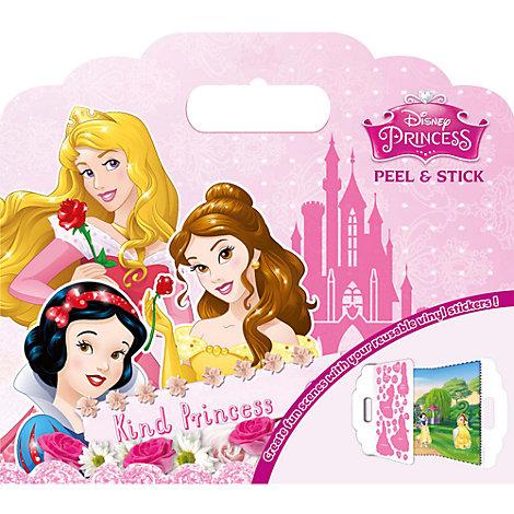 Disney Princess Peel and Stick Vinyl Sticker Set
