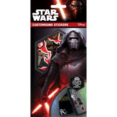 Kit d'autocollants pour personnaliser les appareils électroniques Star Wars
