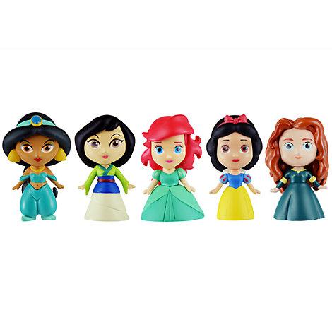 Set figuritas construibles princesa Disney