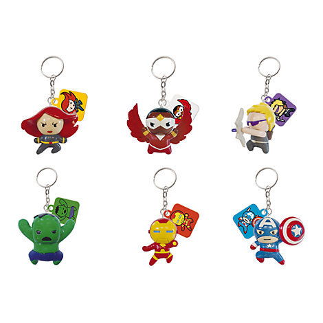 Avengers Mystery Figure Mascot Key Ring