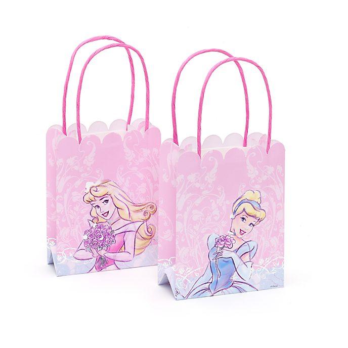 Disney Store Disney Princess 6x Paper Party Bag Pack