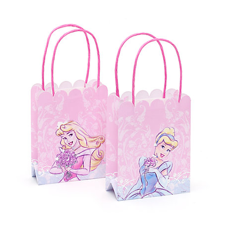 Paquet de 6 sachets cadeaux Princesses Disney
