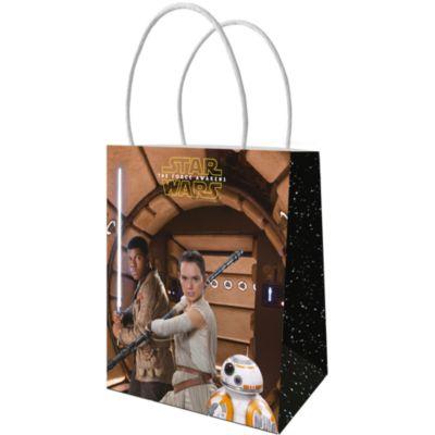 Paquet de 6 sachets cadeaux en papier Star Wars: Le Réveil de la Force