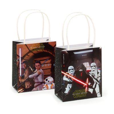 Bolsas fiesta papel Star Wars VII: El despertar de la Fuerza (6 u)