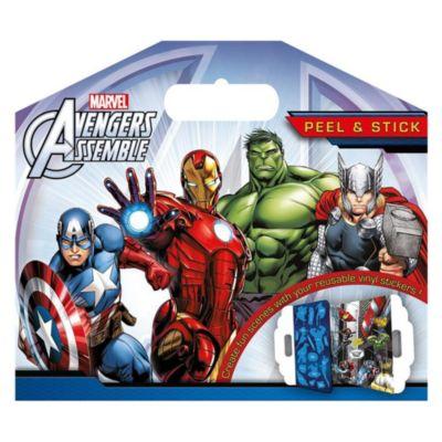 Paquet Marvel Avengers Peel et Stick Sticker