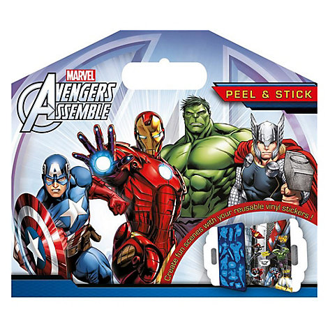 Marvel Avengers Assemble Peel And Stick Sticker Pack