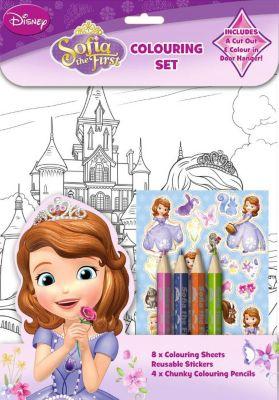 Sofia la Principessa, set per colorare