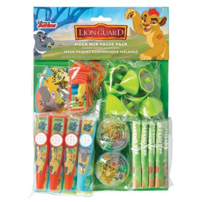 The Lion Guard 48 Piece Party Favours Pack