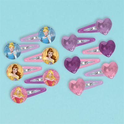 Disney Prinzessin - Haarspangen, 12er-Set