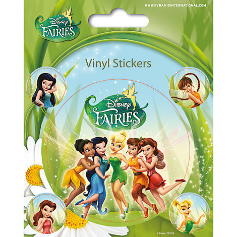 Disney Fairies Vinyl Sticker Sheet