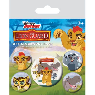 The Lion Guard Badges, Pack of 5